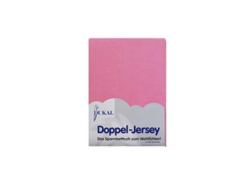 Fixleintuch Doppel-Jersey pink