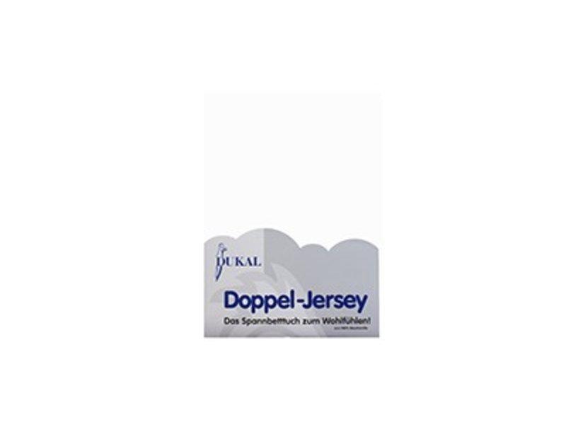 Fixleintuch Doppel-Jersey weiss