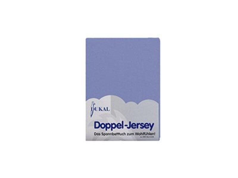 Fixleintuch Doppel-Jersey blau
