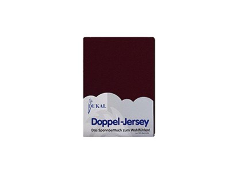 Fixleintuch Doppel-Jersey braun