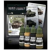 Scale 75 War Front Wargames US Army - 4 kleuren - 17ml - SSE-034