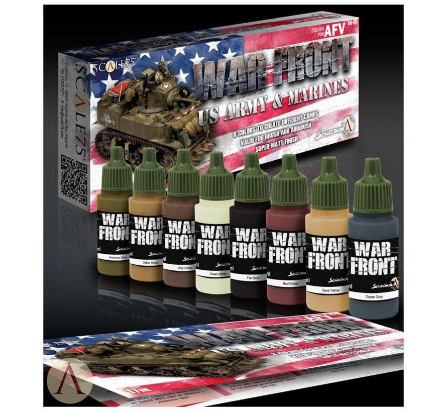 War Front US Army & Marines - 8 kleuren - 17ml - SSE-035