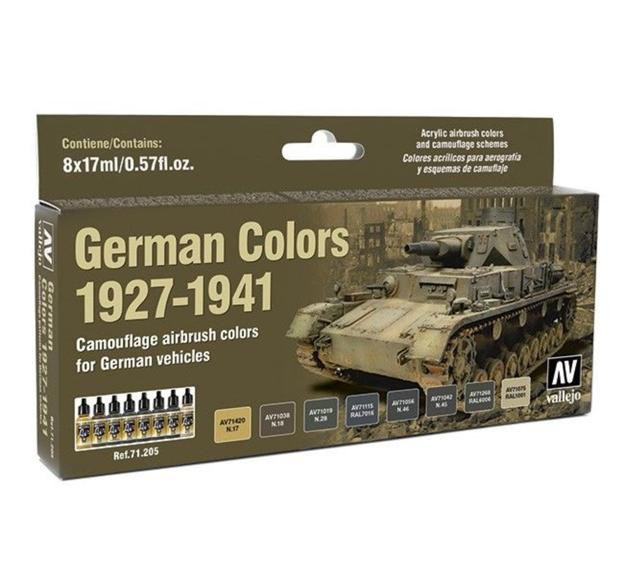 Model Air German Color 1927-1941 - 8 kleuren - 17ml - 71205