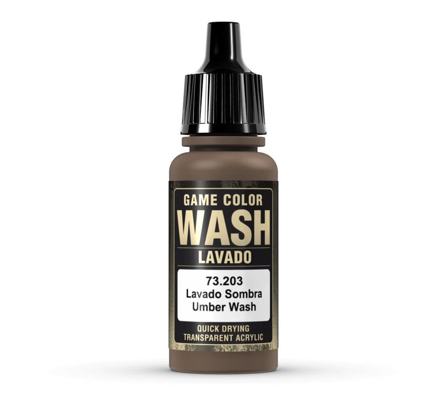 Game Color Wash Umber Shade - 17ml - 73203