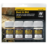 Vallejo Pigment Set Dust & Dirt - 4 kleuren - 35ml - 73190