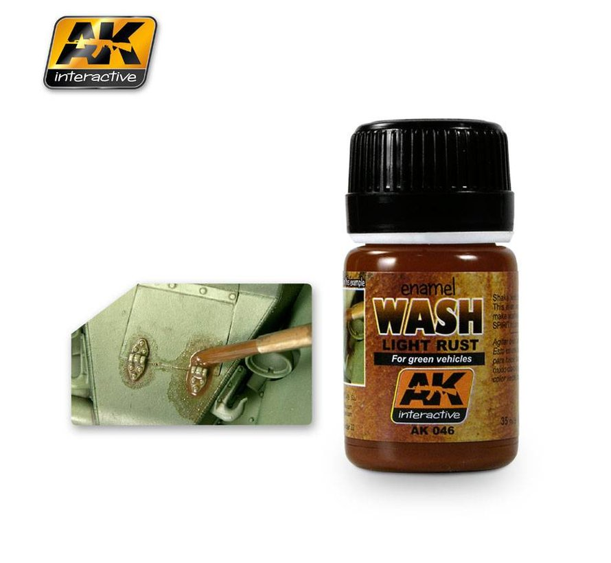 Light Rust Wash - AK Weathering Products - 35ml - AK-046