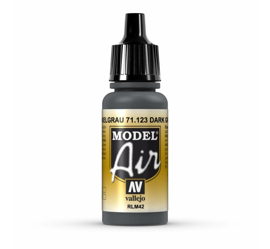 Model Air Dark Grey RLM42 - 17ml - 71123