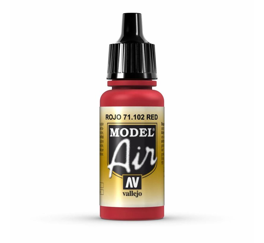 Model Air Red - 17ml - 71102