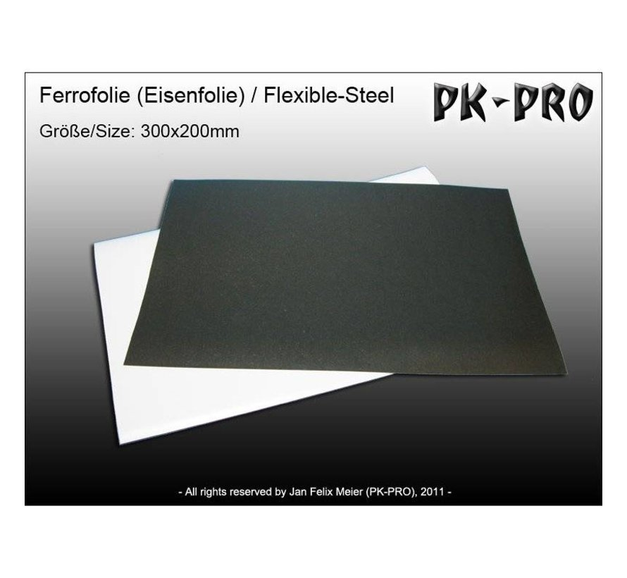 Flexibel Rubbersteel sheet - 20x30cm - MAG-Ferro