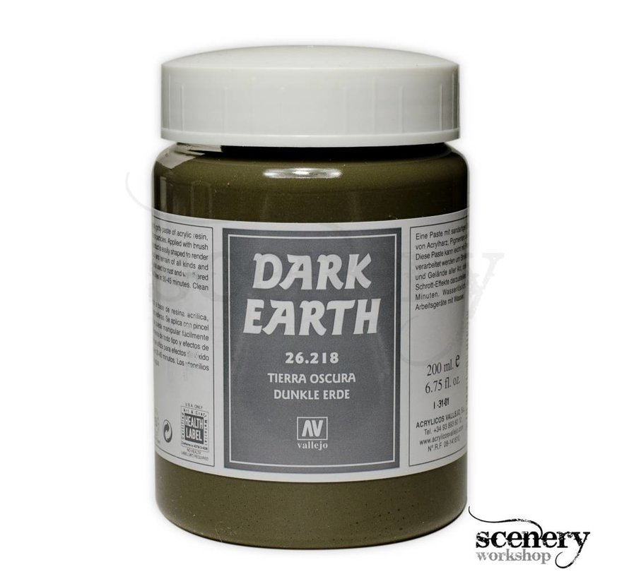 Dark Earth Paste - 200ml - 26218