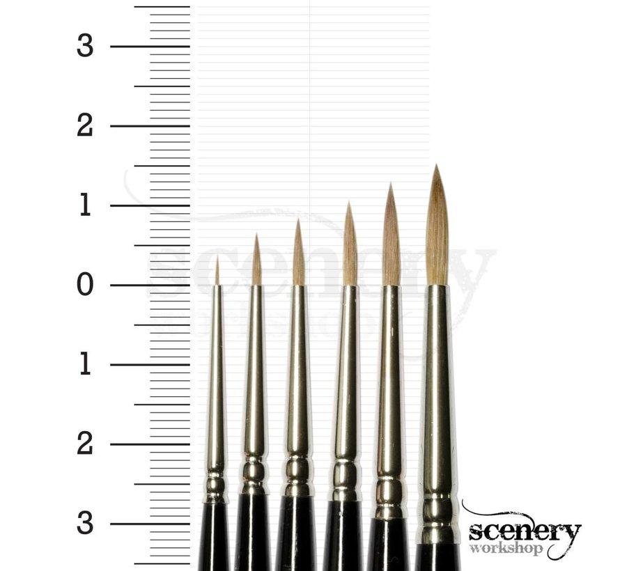 8404 6/0 Kolinsky Sable penseel