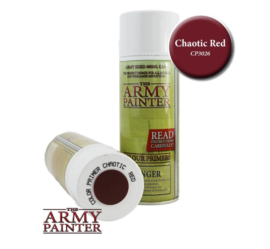 Chaotic Red - Colour Primer - CP3026