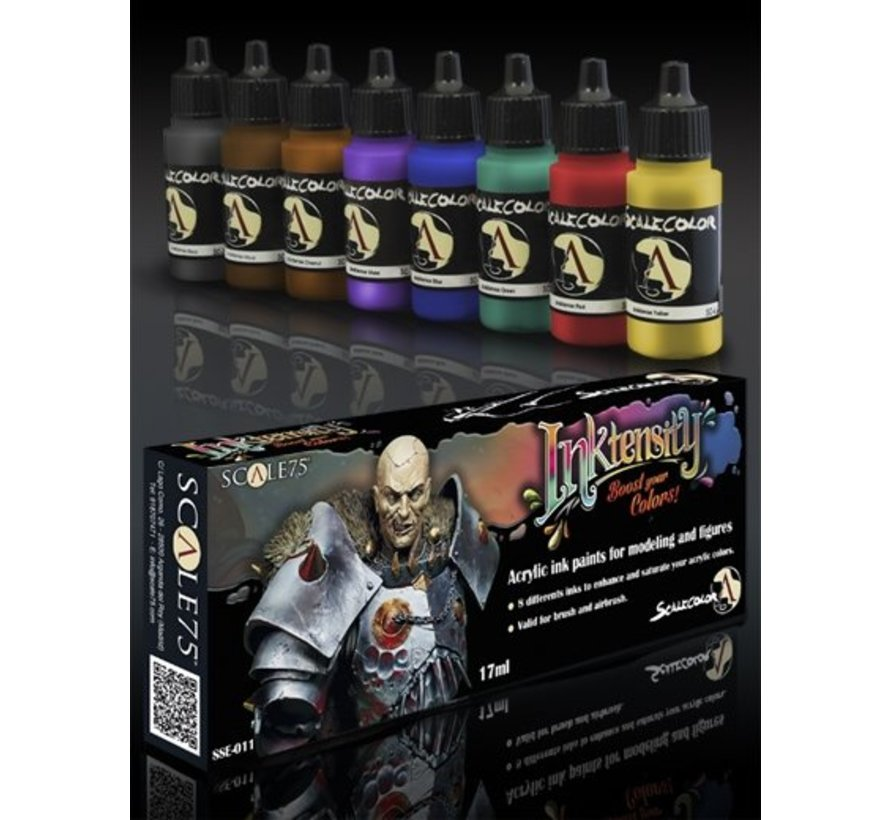 Inktensity - 8 kleuren - 17ml - SSE-011
