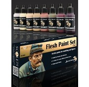 Scale 75 Flesh Paint Set - 8 kleuren - 17ml - SSE-003