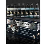 Scale 75 NMM Paint Set Steel - 8 kleuren - 17ml - SSE-001