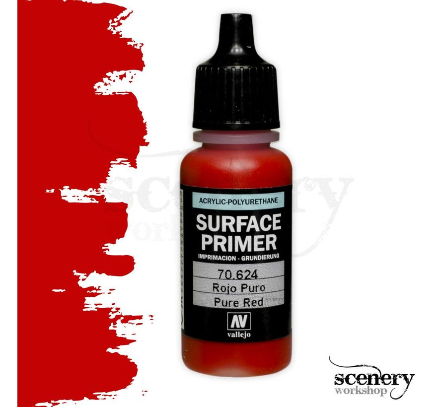 Surface Primer Pure Red - 17ml - 70624