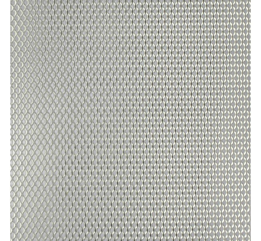 Aluminium Meshed Metal 10cm x 10cm - CP-AlStrMe