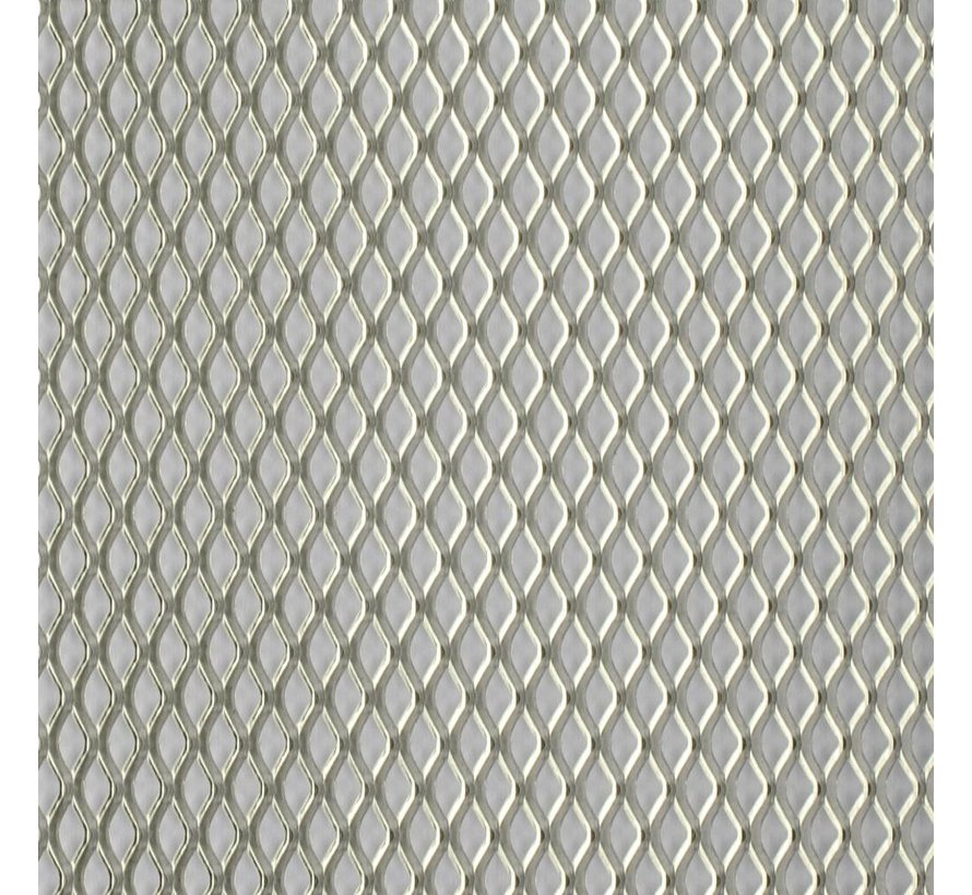 Stainless Steel Mesh - 1,7mm x 3,5mm - 140x200mm - 820-23