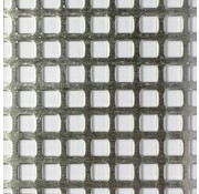 Maquett Aluminium Grating Mesh - 5,7mm - 140x200mm - 810-10