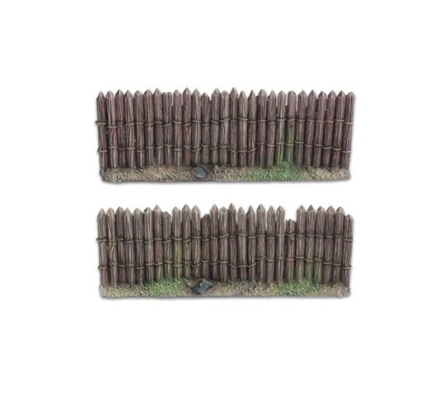 Wooden stockade 28mm - TTA800015