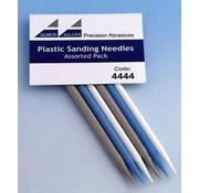 Albion Alloys Plastic Schuurnaalden set - 6x - 4444