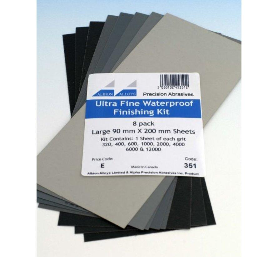 Ultra Fijn Schuurpapier - 8x - 351