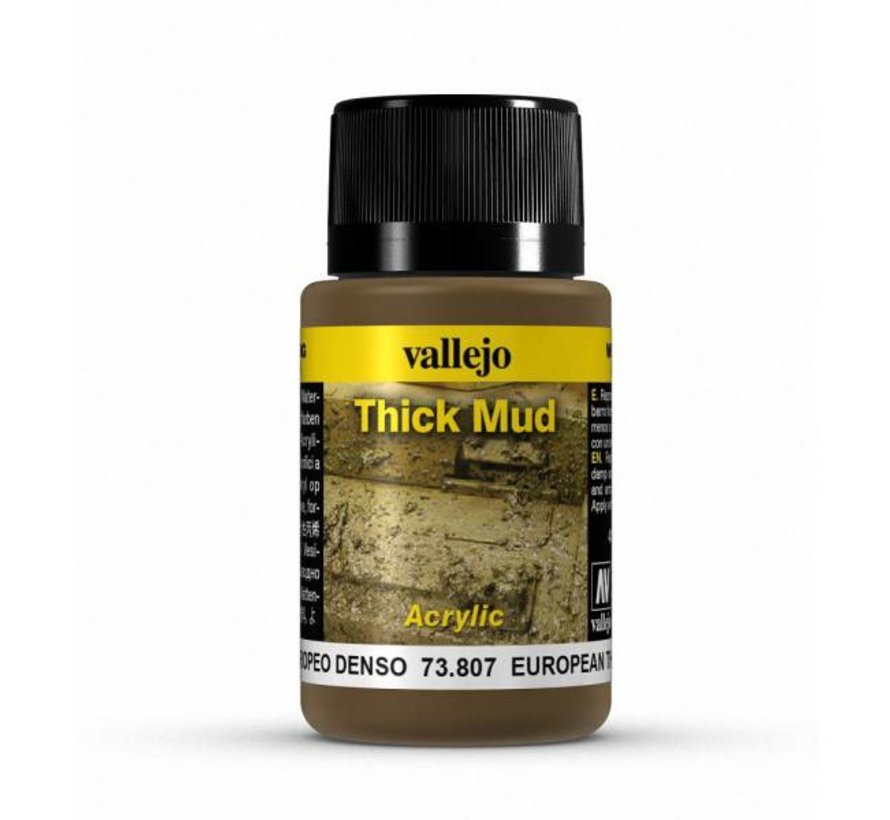 European Mud Thick Mud Weathering Effects - 40ml - 73807