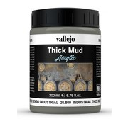 Vallejo Industrial Mud Thick Mud Weathering Effects - 200ml - 26809