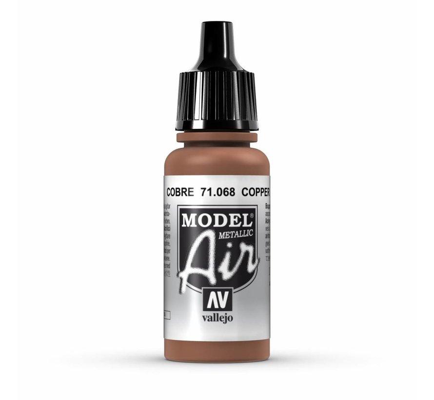Model Air Metallic Copper - 17ml - 71068