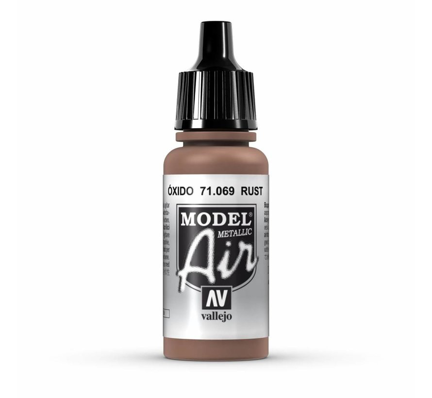 Model Air Metallic Rust - 17ml - 71069