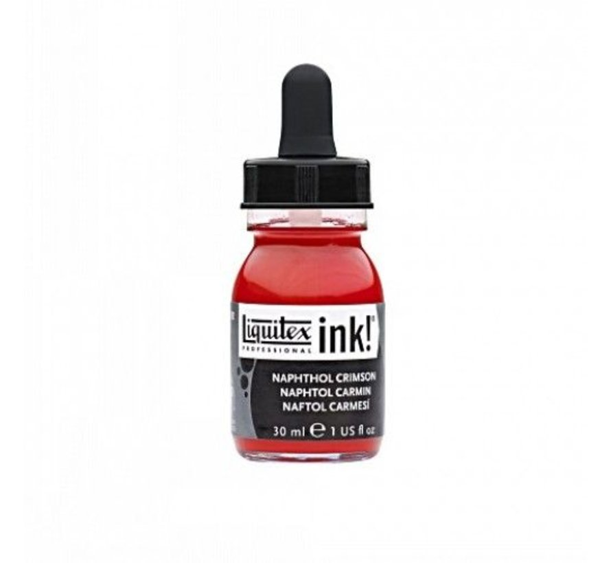 Professional Acryl Ink! Naphtol Crimson - 30ml - 292 - 4260292