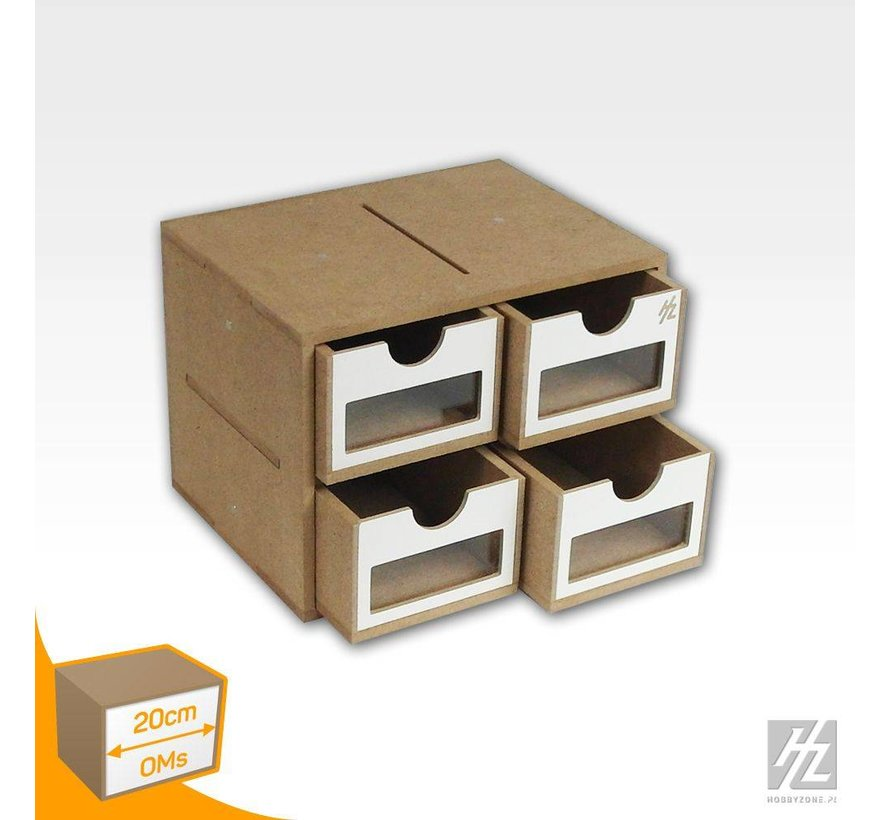 Drawers Module x4 - OMs01a
