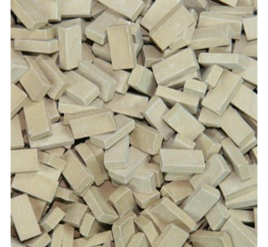 Beige donker baksteen 1:35 - 1000x - 23049