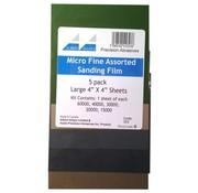 Albion Alloys Micro Fijn Schuurpapier - 5x - 353