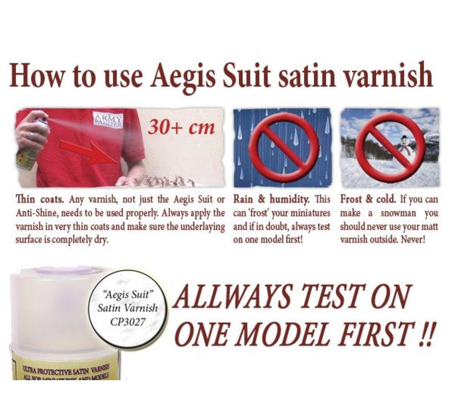 Aegis Suit Satin - Vernis - CP3027