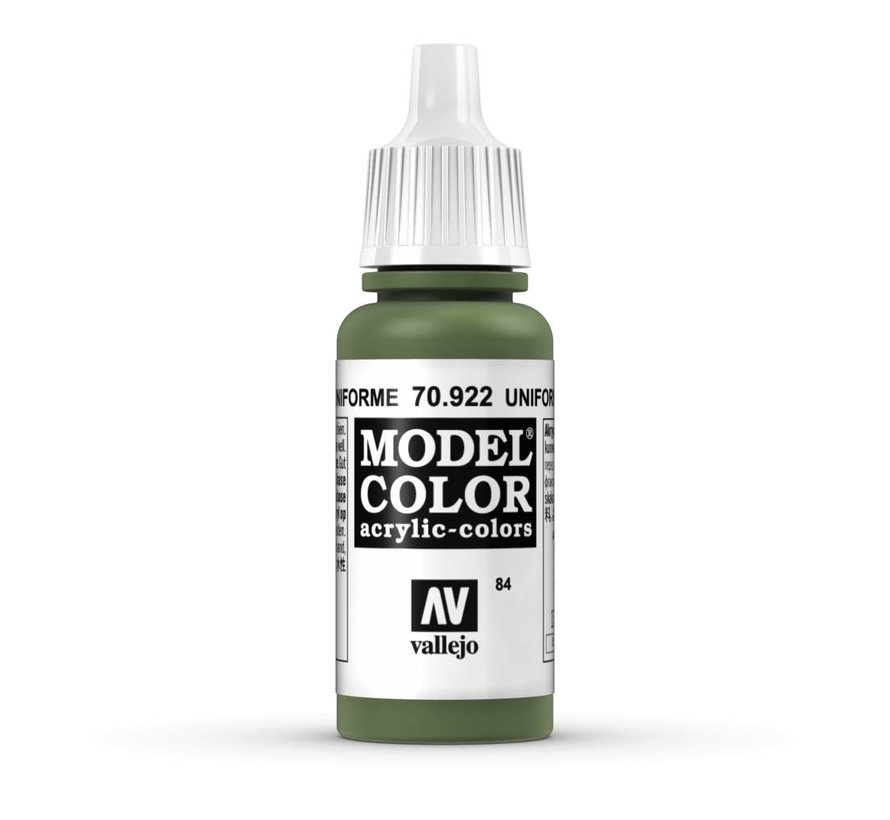 Model Color Uniform Green -17ml -70922