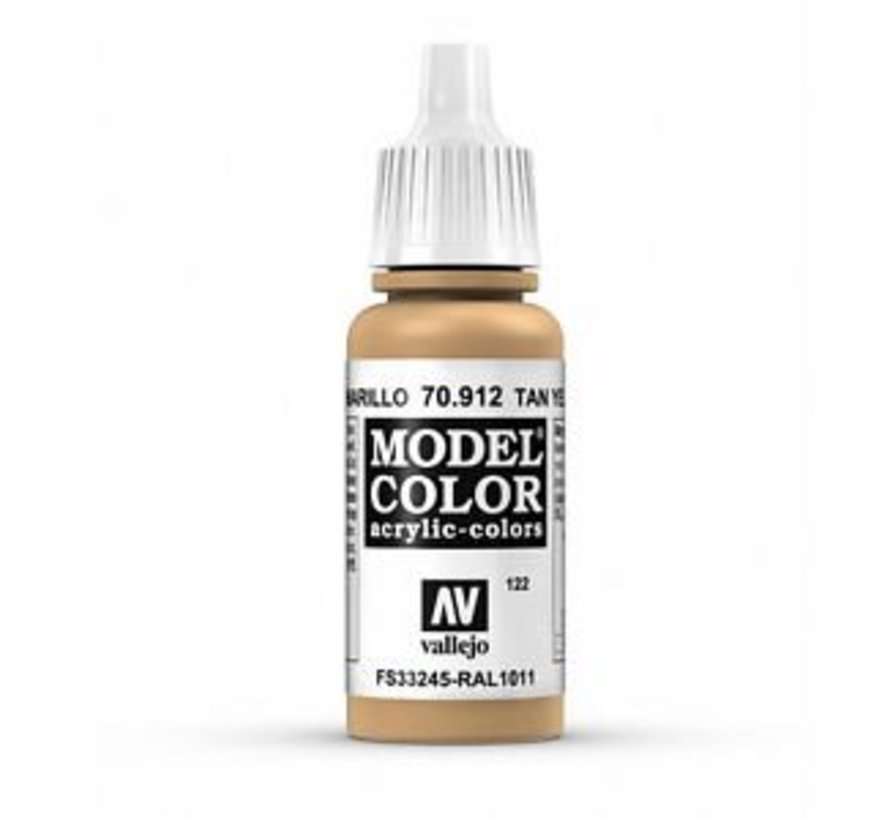 Model Color Tan Yellow -17ml -70912