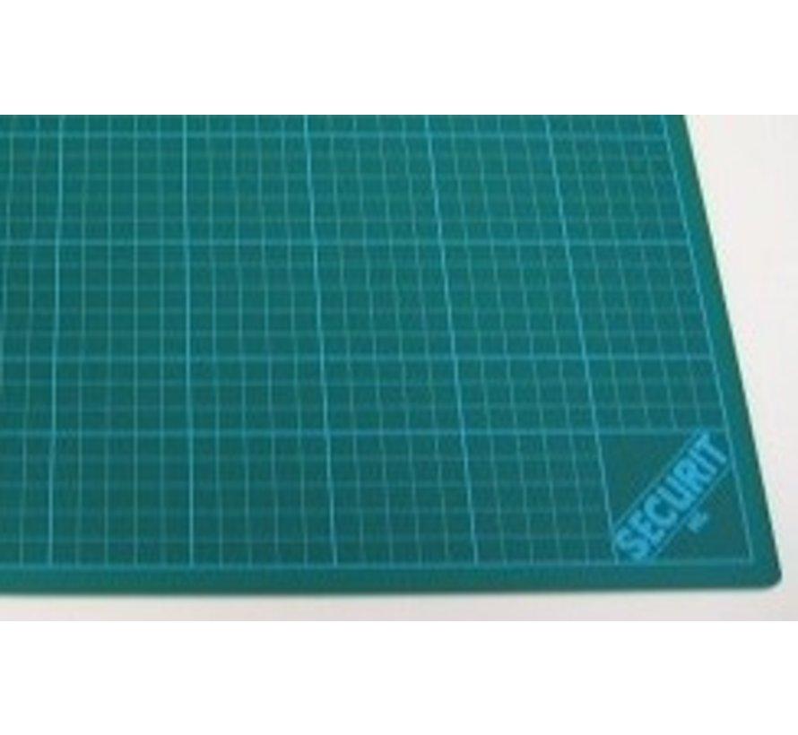 Snijmat groen 3-laags - 22x30cm - 860500/2230