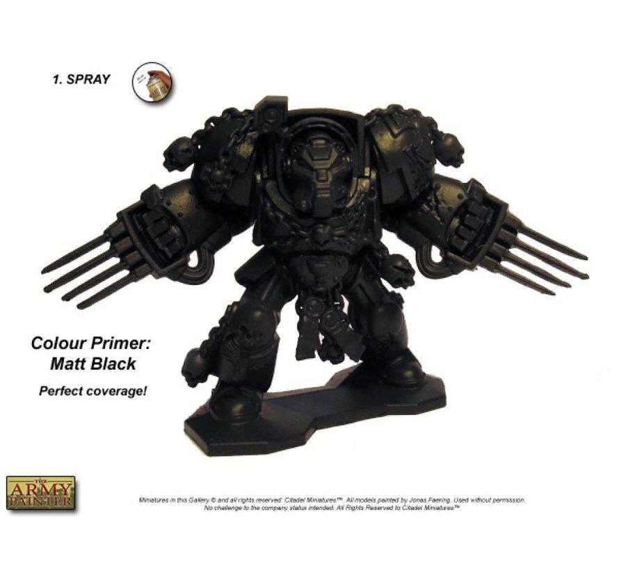 Matt Black - Colour Primer - CP3001