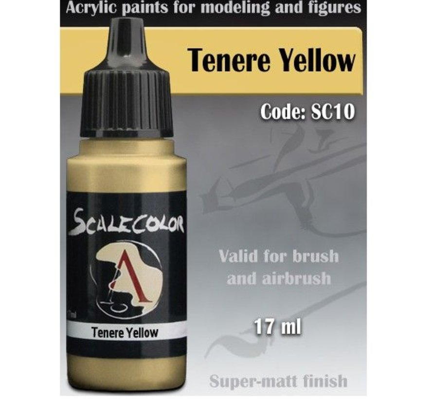 Scalecolor Tenere Yellow - 17ml - SC-10