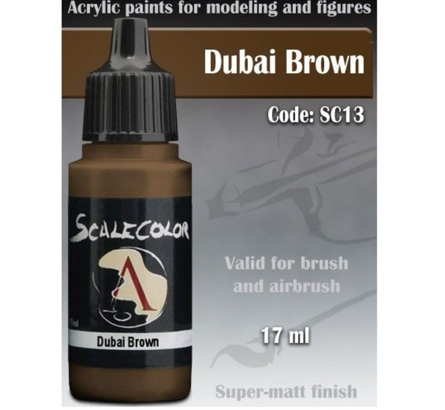 Scalecolor Dubai Brown - 17ml - SC-13