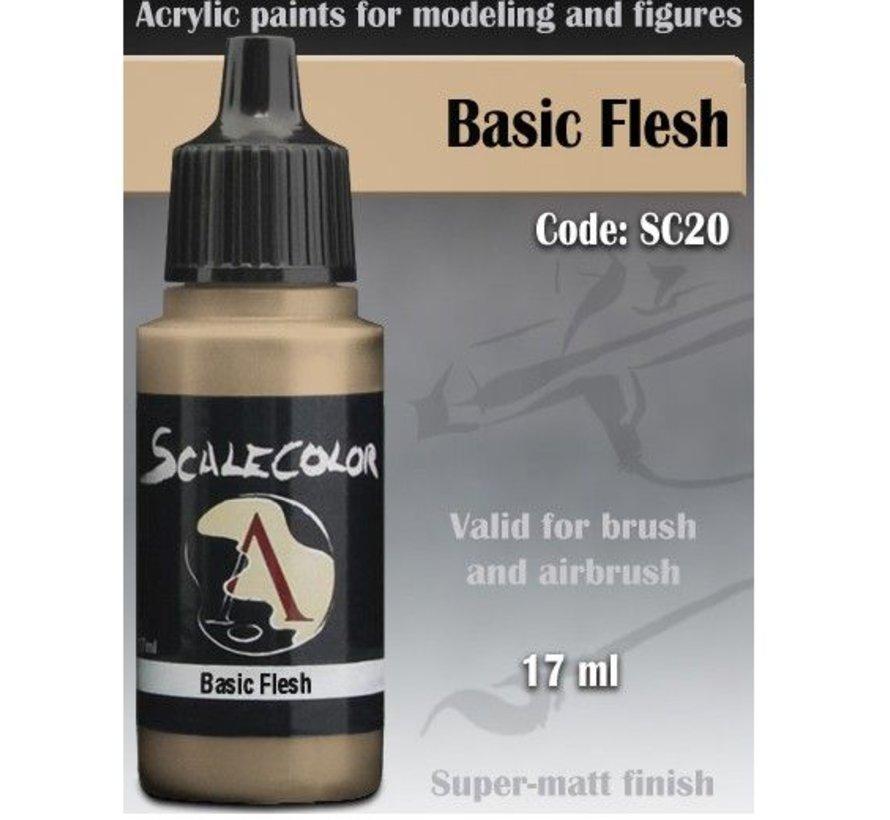 Scalecolor Basic Flesh - 17ml - SC-20