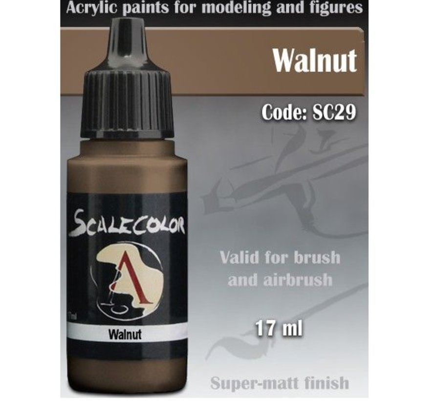 Scalecolor Walnut - 17ml - SC-29