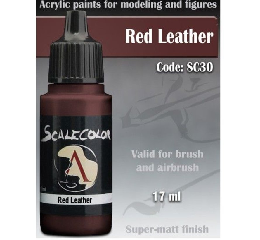 Scalecolor Red Leather - 17ml - SC-30