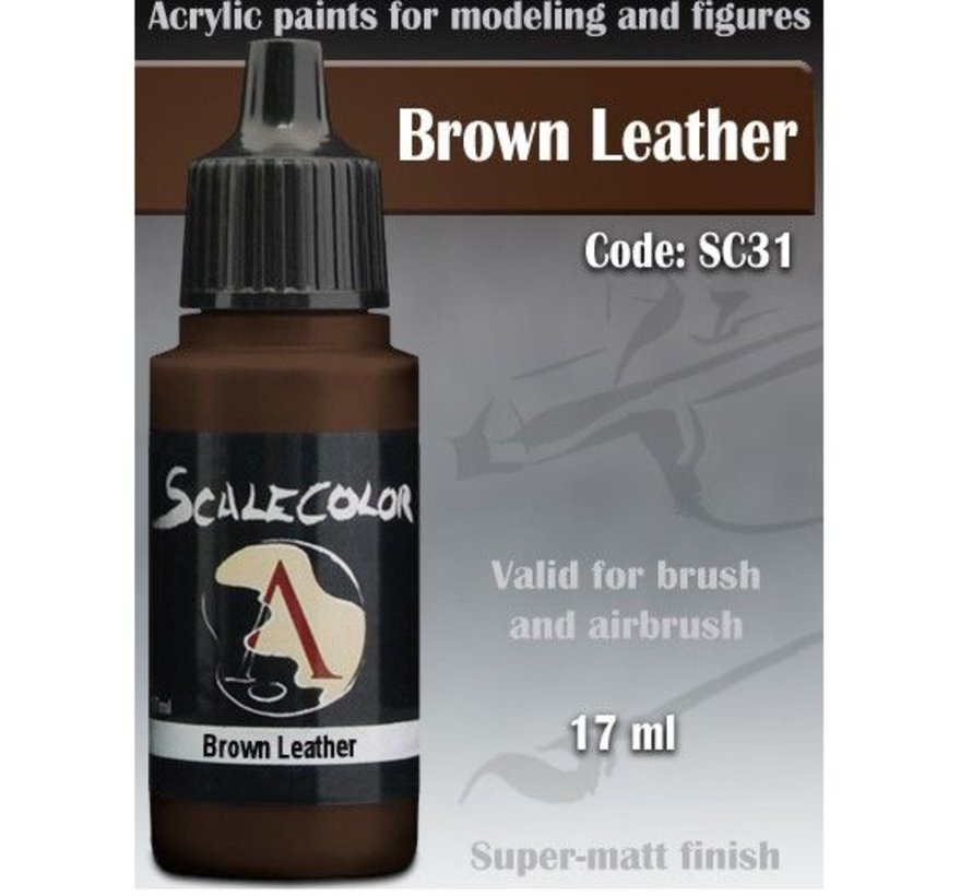 Scalecolor Brown Leather - 17ml - SC-31