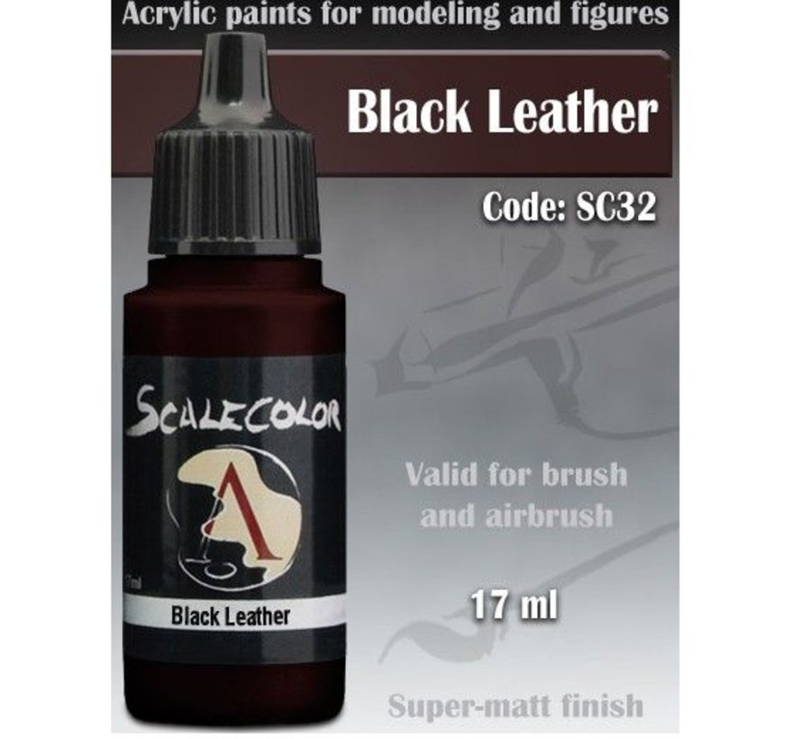 Scalecolor Black Leather - 17ml - SC-32