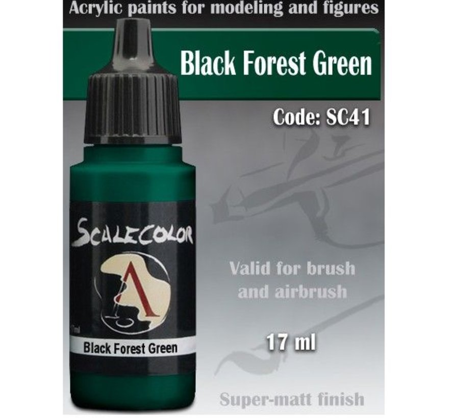 Scalecolor Black Forest Green - 17ml - SC-41