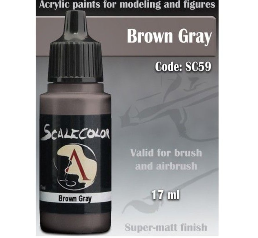Scalecolor Brown Gray - 17ml - SC-59