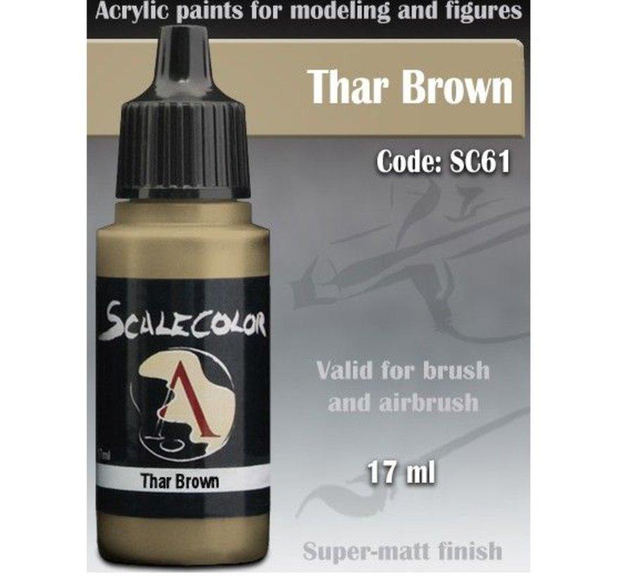 Scalecolor Thar Brown - 17ml - SC-61