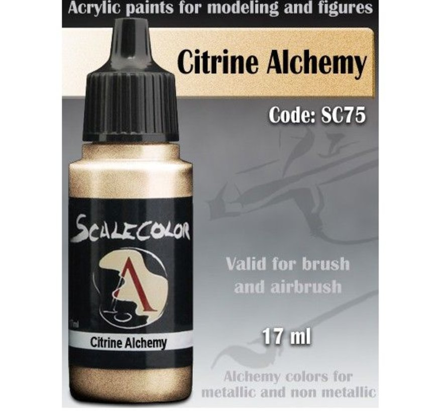 Scalecolor Citrine Alchemy - 17ml - SC-75